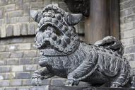 狮子铜雕图片