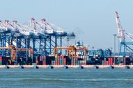 集装箱港口码头图片