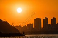 黄昏港口码头500751717图片