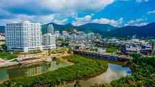 广东惠州巽寮湾街景图片