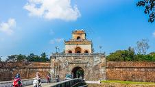 越南顺化古城街景图片