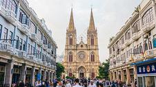 广东广州石室圣心大教堂图片