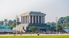 越南河内胡志明墓图片