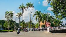 越南顺化街景图片