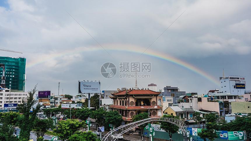 越南岘港街景图片