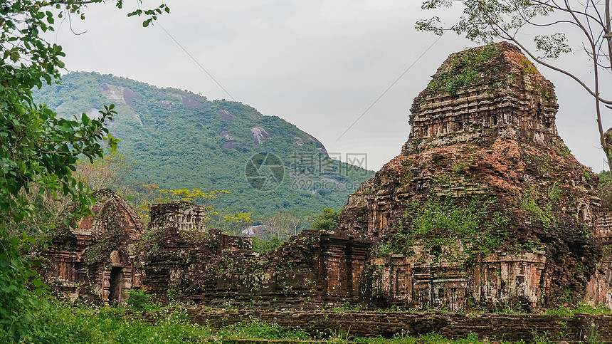 越南美山遗址图片