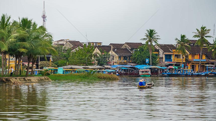 越南会安古城风光图片