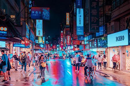 台北夜景图片