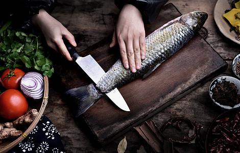 活杀鱼图片