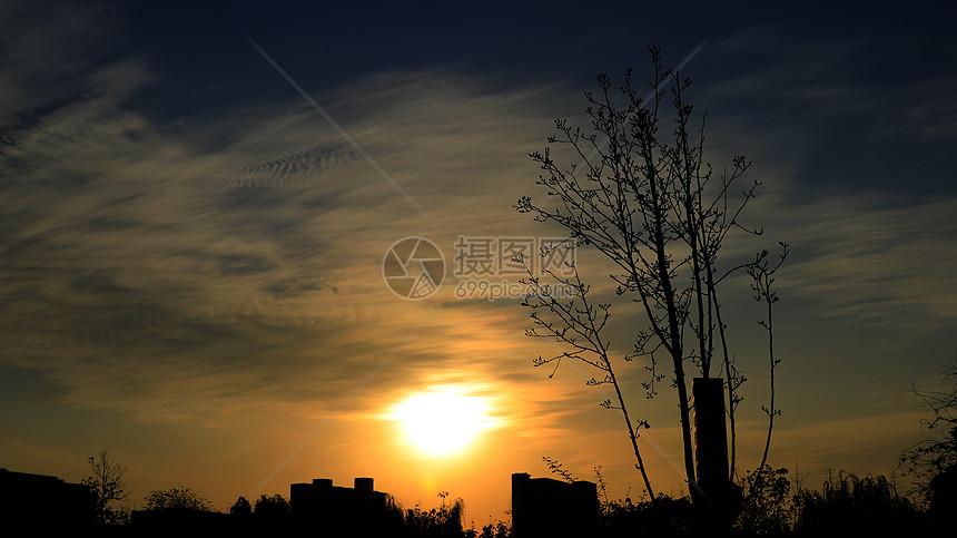 秋日的午后阳光图片