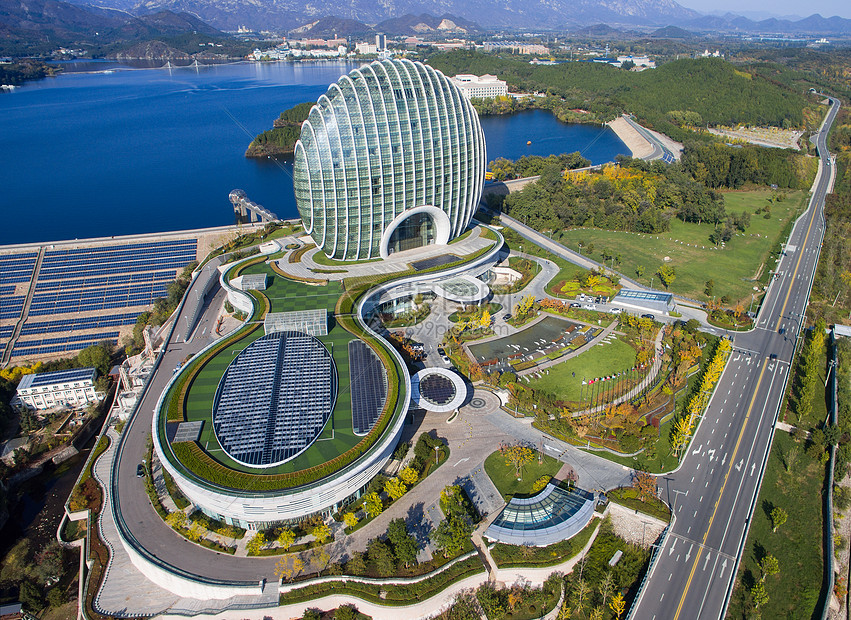 北京郊区雁西湖景区图片