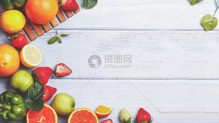 新鲜水果图片