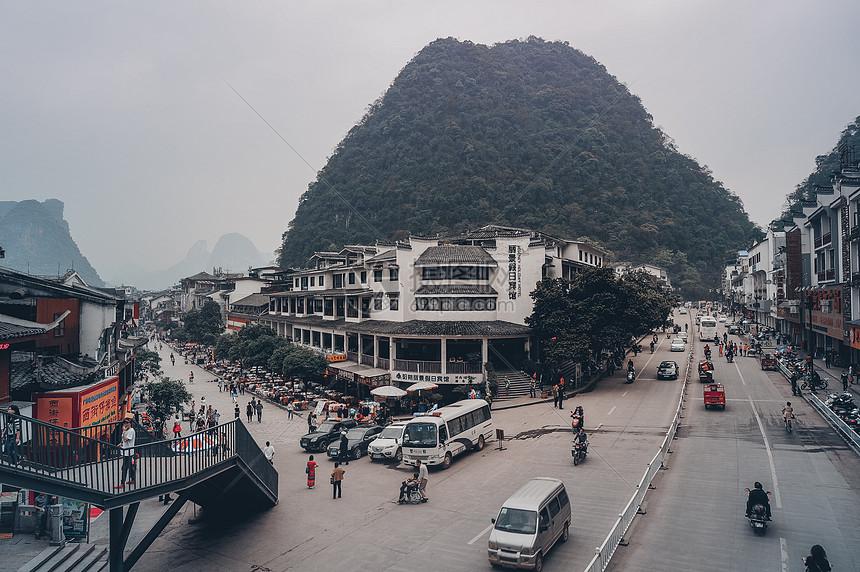 广西桂林西街图片