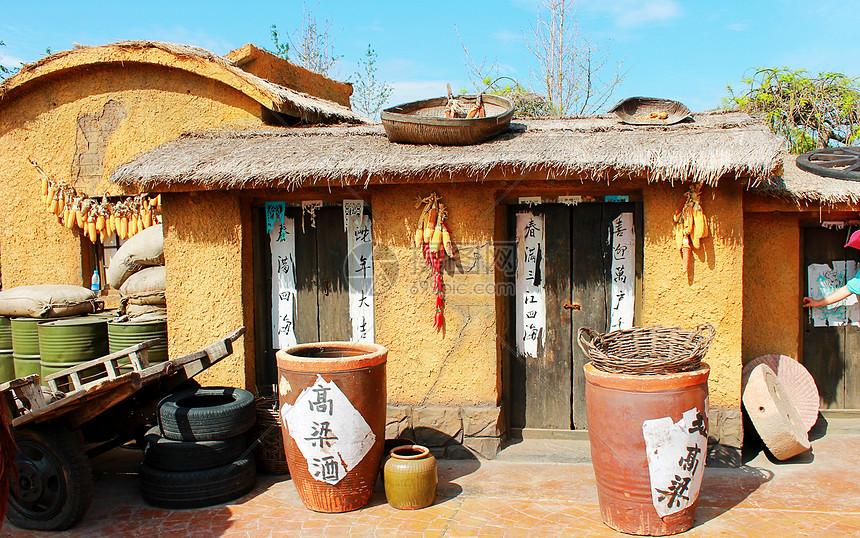 农村的小房子图片