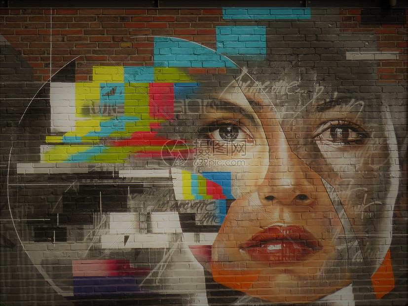 街拍墙面图片