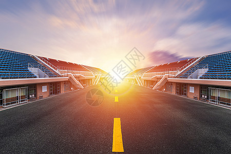赛场跑道地面背景图片