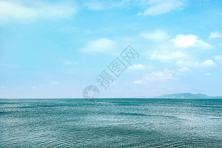 旅游胜地美丽的海边风光图片