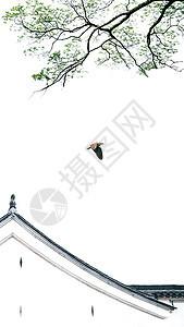 充满中国风的徽派建筑图片