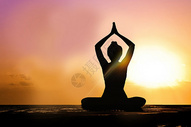 瑜伽养生图片