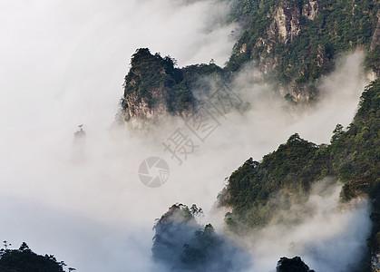 贵州铜仁仙境梵净山图片