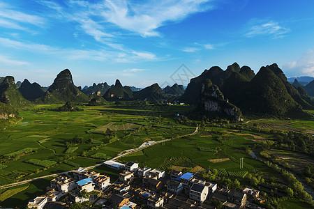 临桂田园风光图片