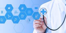 现代医疗科技背景图片
