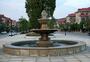 广场喷水池图片