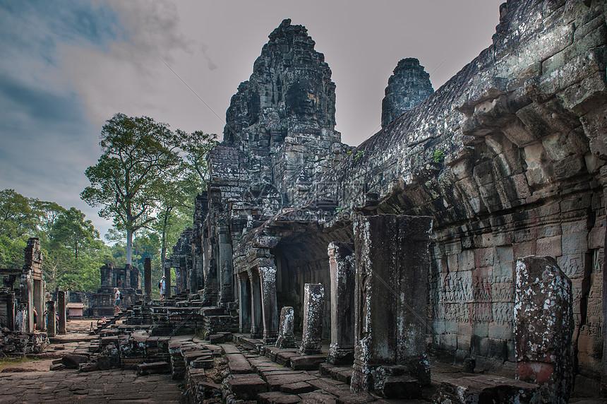 柬埔寨古建筑遗址群图片