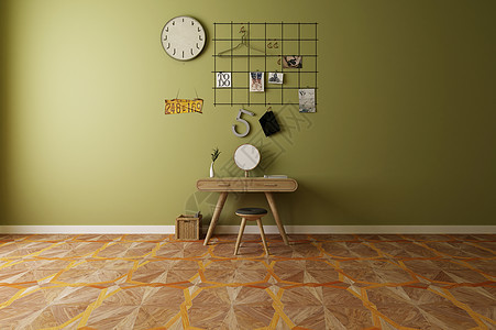 现代客厅桌椅简约效果图图片