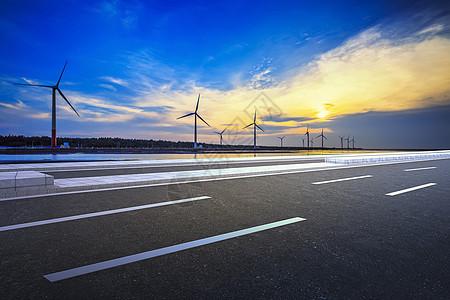 美国加州风力发电风车图片