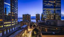 美国 加州 夜景图片