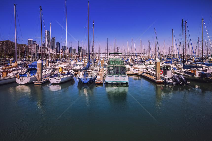 美国落杉矶港口图片