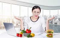 健康生活饮食选择图片