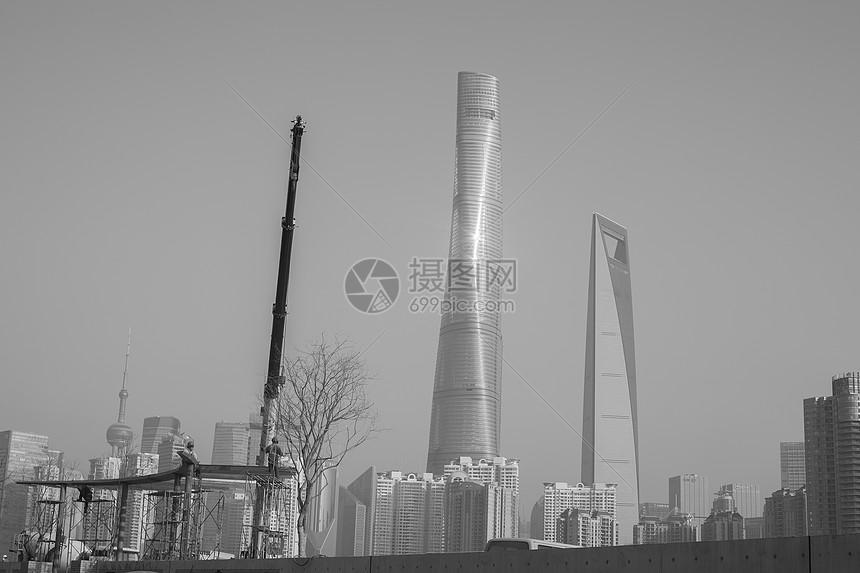 上海城市发展图片