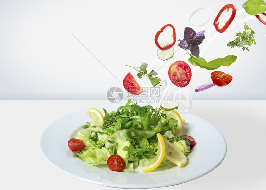 营养沙拉图片