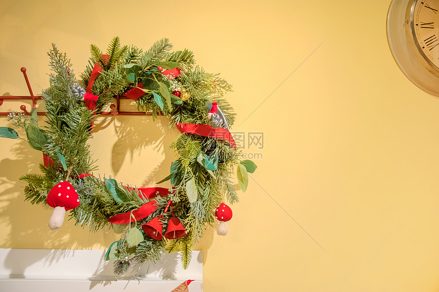 圣诞节家居摆设图片