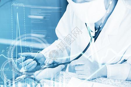 量血压的医生图片