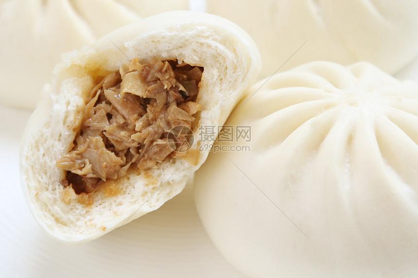 广式叉烧包图片