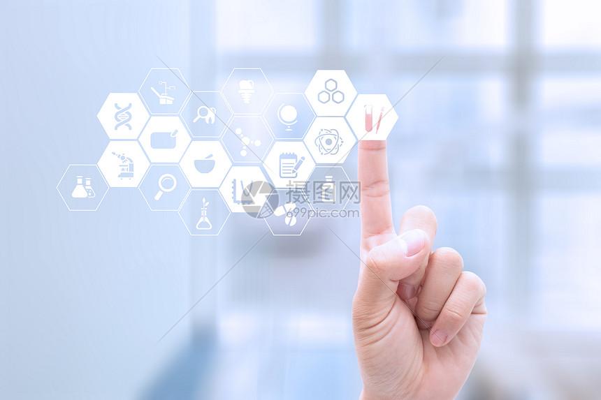 医疗科技背景图图片