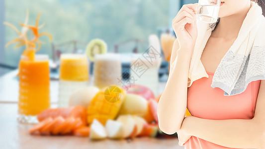 运动养生果汁图片
