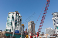 发展建设中的城市图片