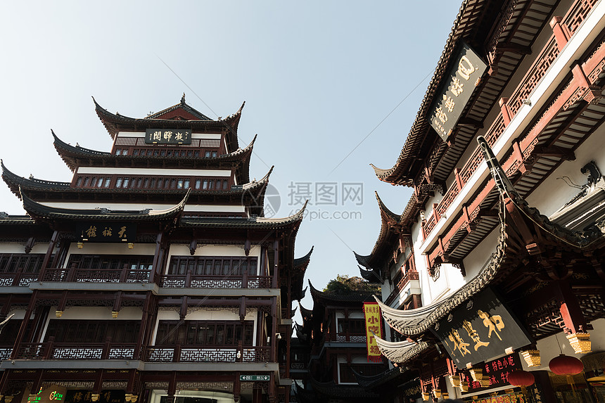 传统中国风建筑图片