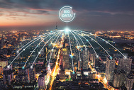 城市科技大数据图片