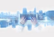 商务城市科技背景图片