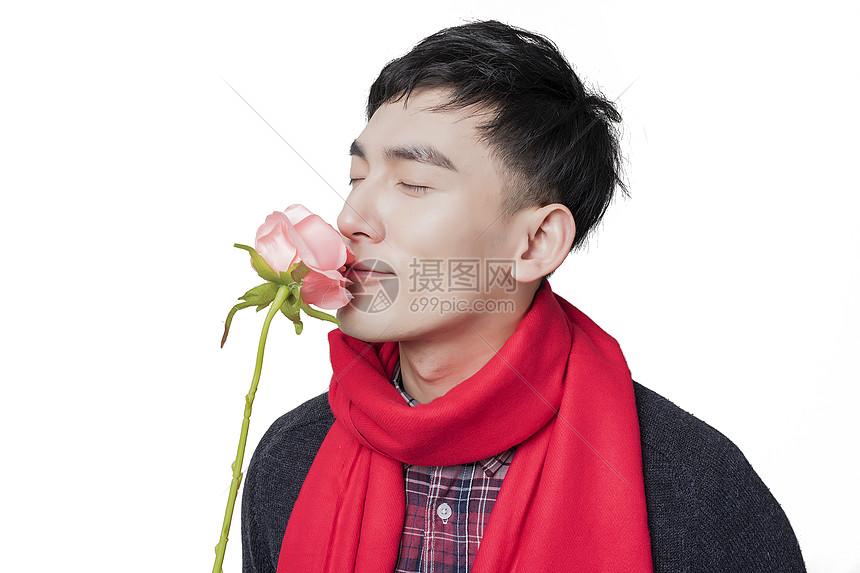 情人节男士人像图片