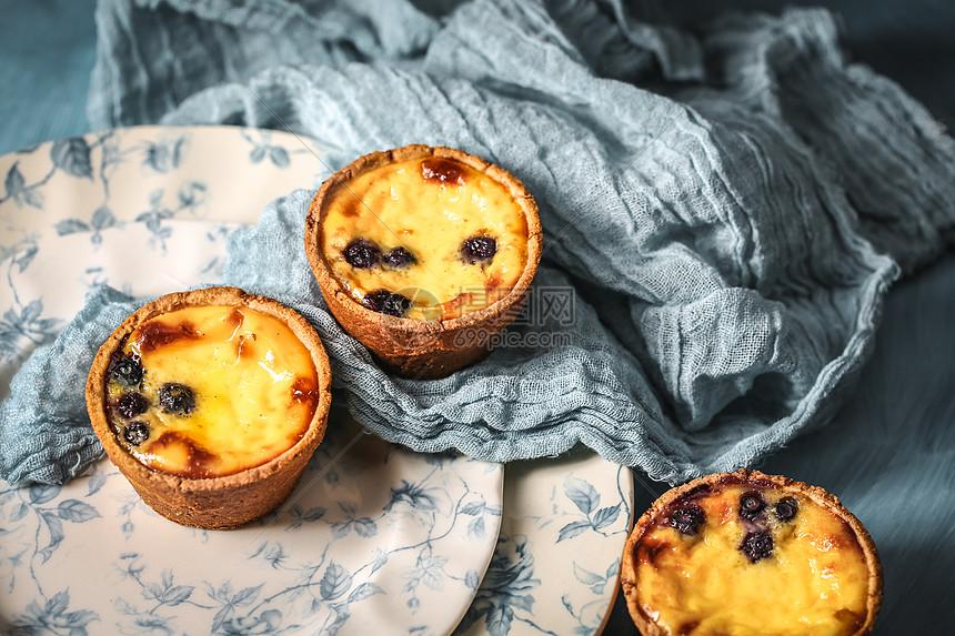 蓝莓蛋挞布鲁斯图片