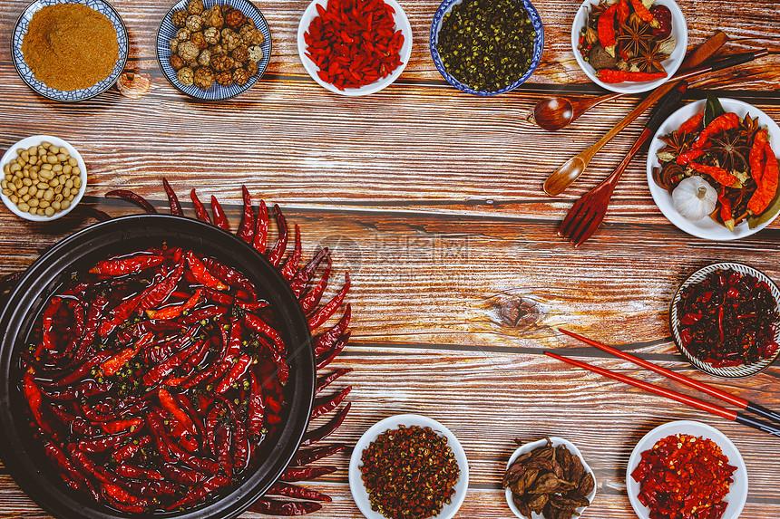 火锅香料食材图片