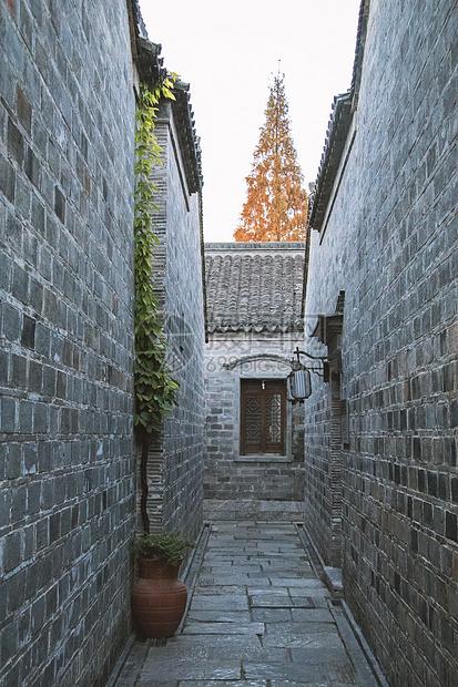 南京旅游景点里的古建筑图片