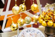 圣诞装饰摆设图片