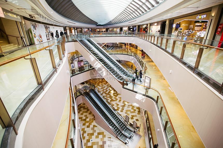 商场内部环境图片